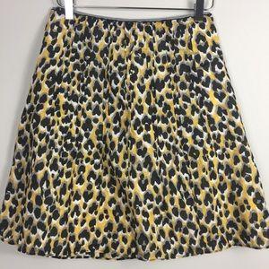 Tahari cheetah skirt